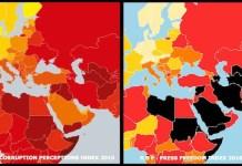 RSF: Evolución negativa de la represión de la información sobre la corrupción