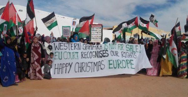 Refugiados del Sahara occidental celebraron la sentencia del tribunal de la UE