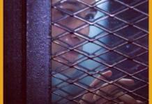 Cartel por la libertad de Mahmoud Abu Zeid, Shawkan, encarcelado en Egipto