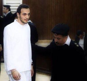 Shawkan ante el tribunal con una imagen muy deteriorada.
