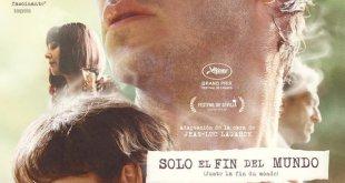 Solo el fin del mundo, póster en español de la película
