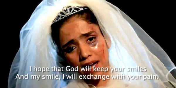 """Sonita Alizadeh en """"Novias a la venta"""""""