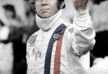 Steve McQueen en el cartel de Le Mans
