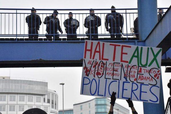 Protestas por la agresión a Théo L. en París