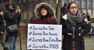 Protestas en París por la violación de Théo