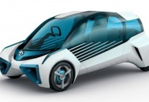 Toyota, prototipo FCV presentado en el Salón de París en 2016