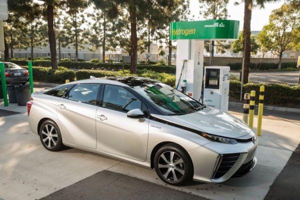 Toyota Mirai en 2016