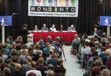 Lectura de la sentencia del Tribunal Monsanto que declara a la multinacional culpable de ecocidio