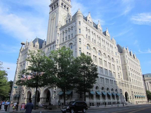 Hotel Trump en la Avenida Pensilvania de Washington