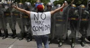 Protestas en las calles de Venezuela. Foto AI/Getty/AFP