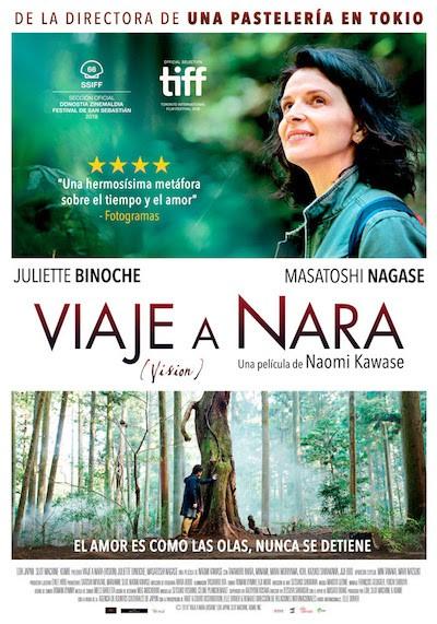 Viaje a Nara poster