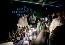Interior del bar World Chess Club de Moscú