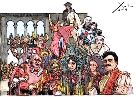 Xulio Formoso: 1001 noches en la Opera
