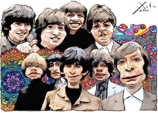 Xulio Formoso: Beatles & Rolling Stones