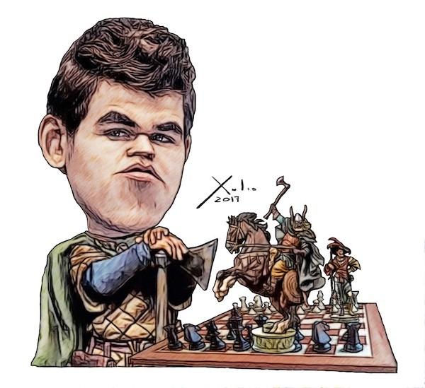Xulio Formoso: Magnus Carlsen