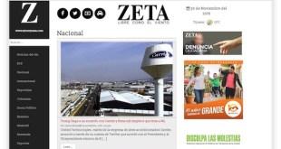 El semanario Zeta amenazado por el narcotráfico