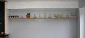 Finished Floating Shelf