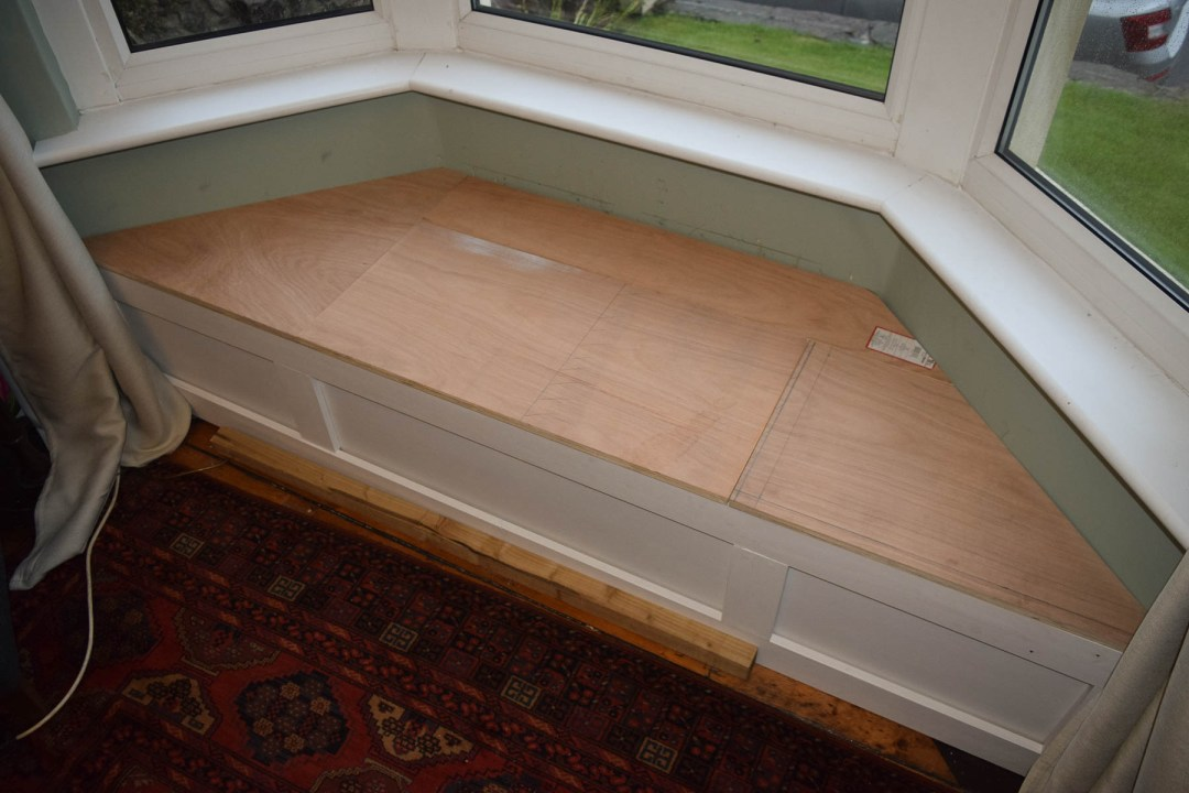 Window Seat Plywood Top