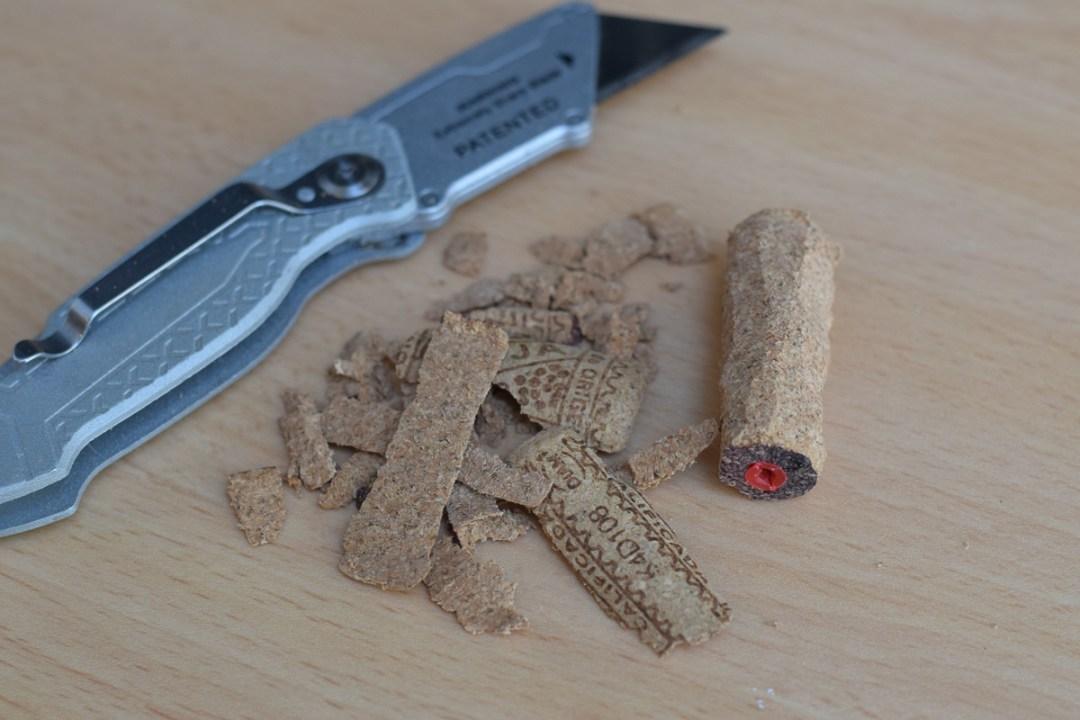 Grundtal rail trimmed cork