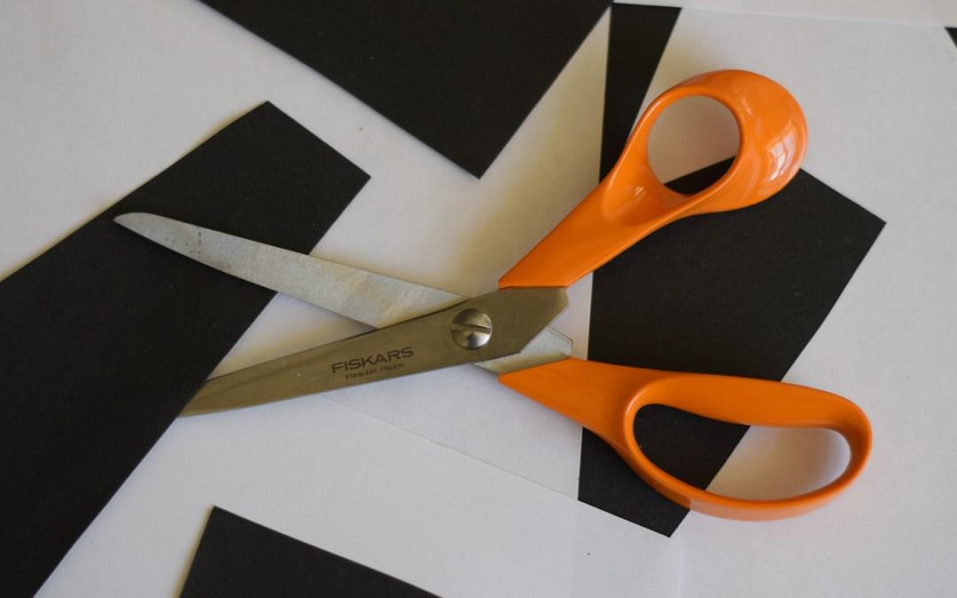 Fiskars Orange Handled Kitchen Scissors