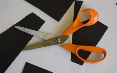 Fiskars Orange Handled Kitchen Scissors
