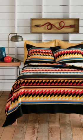 Suwanee Stripe Queen blanket
