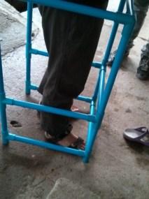 PVC pipe walker!