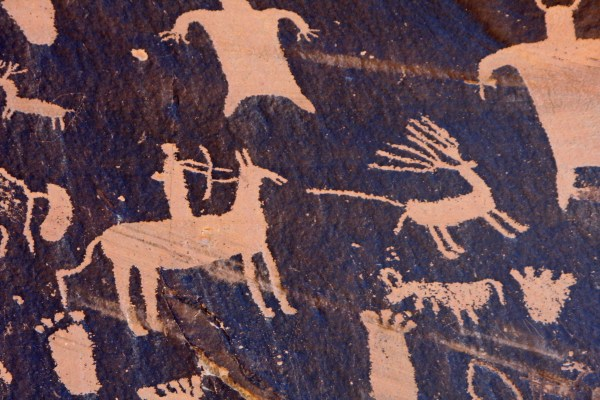 Native American Art Deer Hunting
