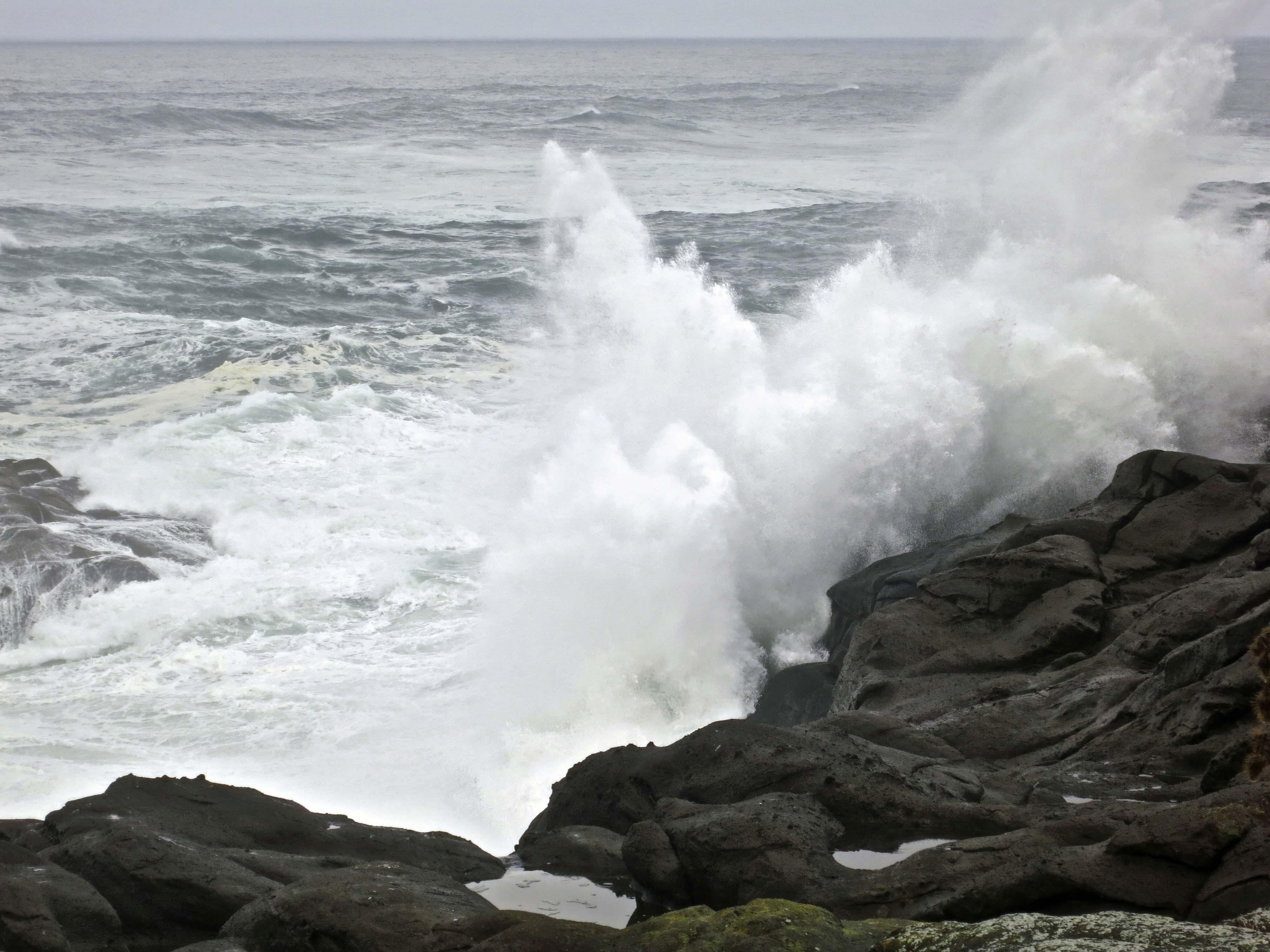 A Wild Ocean And Crashing Waves… The Oregon Coast