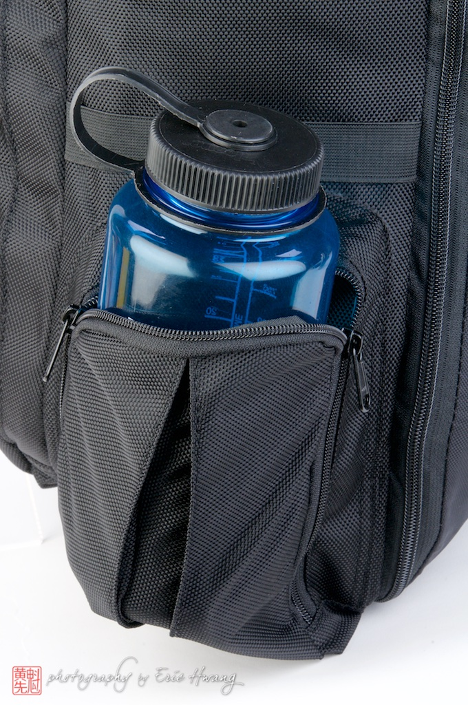 Can hold a one liter Nalgene