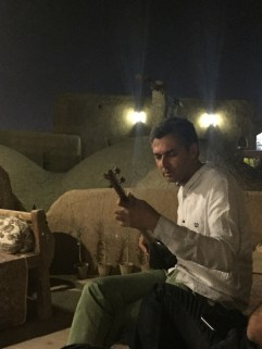 Sitar player in Yazd