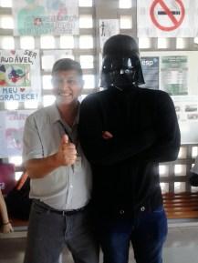Prof. Délio at Sesi Diadema Comic Festival