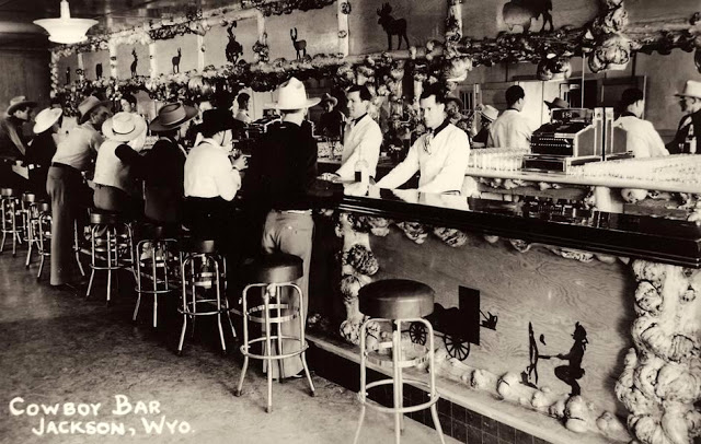 Cowboys at Old West Saloons (21)