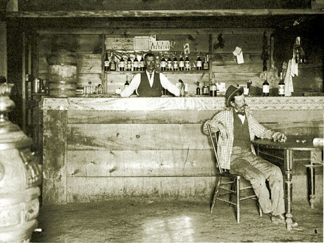 Cowboys at Old West Saloons (9)