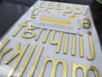 December Daily 2013 - gold foil is awesome