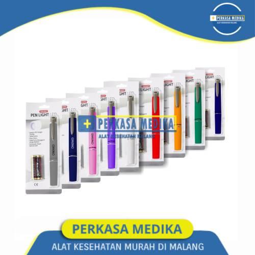 Pen Light Onemed Black Perkasa Medika (1)