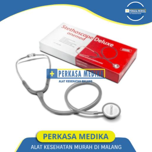 Stetoskop Deluxe Onemed Abu Abu Perkasa Medika