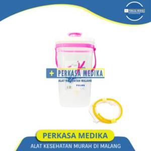 Alat Enema Kopi Jug Enema kopi Polka 1,7 liter Pink Gratis Selang Perkasa Medika Malang