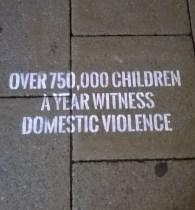 750,000 Children Witness Domestic Violence