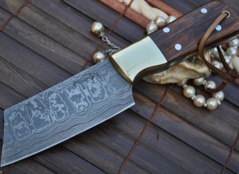 Damascus Steel Kitchen Knives & Handmade Chef Knife