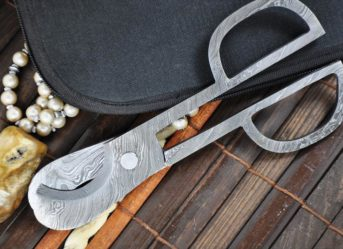 Damascus Steel Scissors