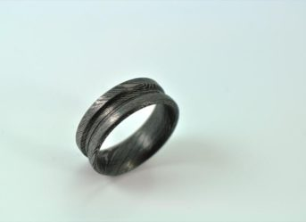 Damascus Steel Handmade Rings UK