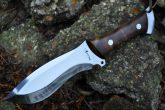 HANDCRAFTED HUNTIND KNIFE- D2 TOOL STEEL-BEAUTIFUL CAMPING KNIFE