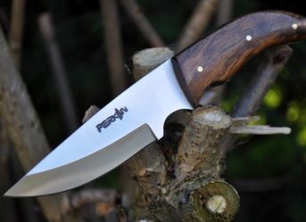 Handmade Bushcraft Hunting Knife with Sheath