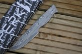 Custom Made 8 Inch Damascus Blank Blade - PB2