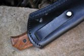 HANDCRAFTED BUSHCRAFT KNIFE 440C STEEL - IDEAL FOR CAMPING & BUSHCRAFT