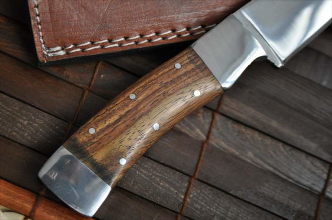 Mirror Polished Handmade 440c Steel Chef Knife