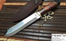 Custom Made Damascus Steel Chef Knife