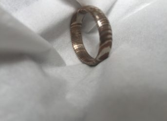 Handmade Rings Uk Damascus Steel Rings Perkin Knives