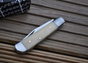 Legal to Carry Handmade Pocket Knife with Bone Handle